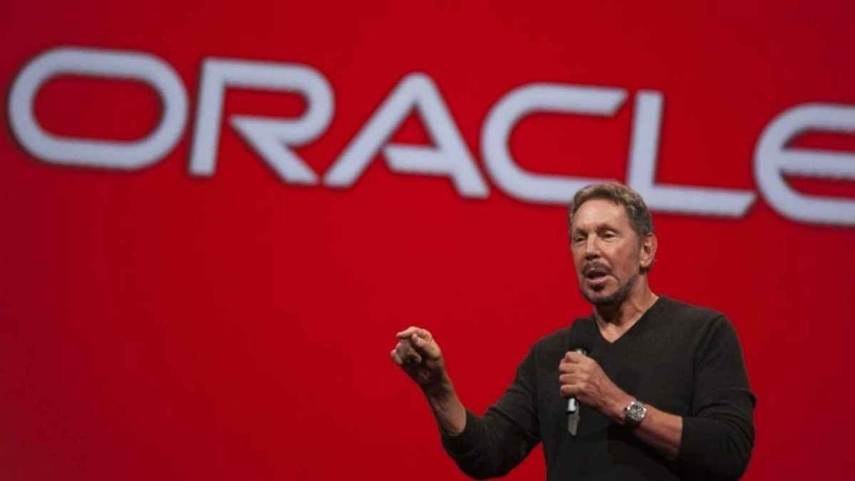 Larry Ellison Oracle CEO