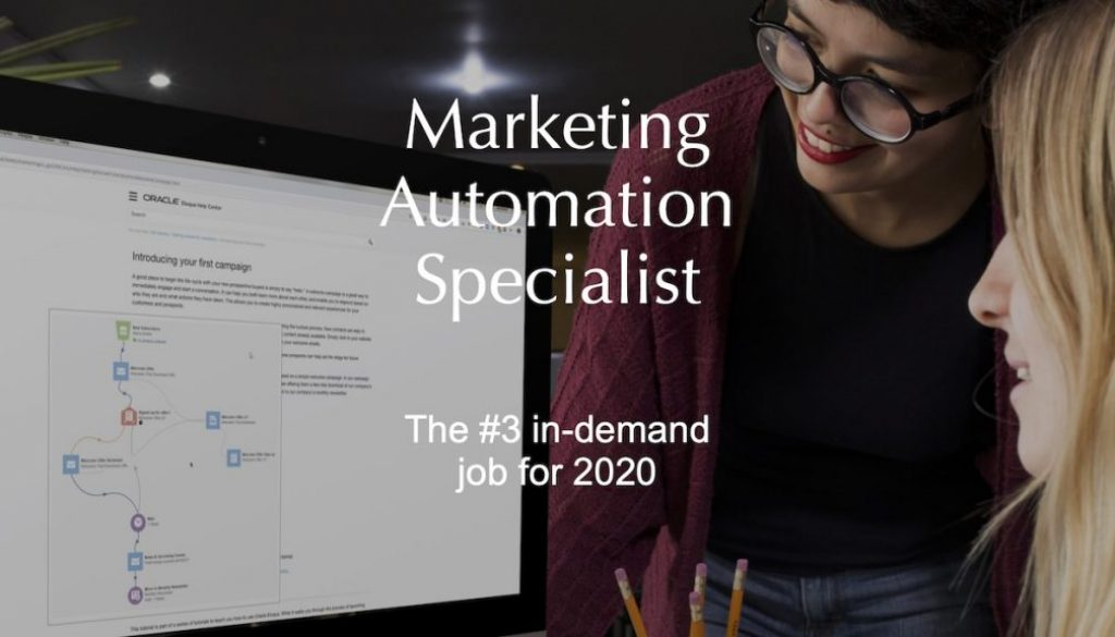 20191217 FEATURED IMAGE Marketing Automation Specialist 1200x675pxl