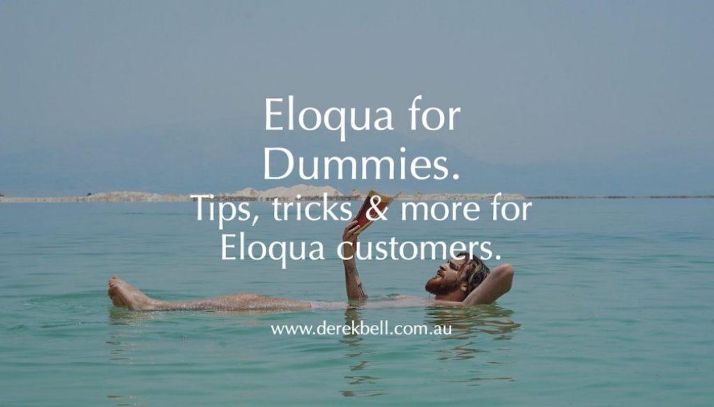 GENERIC Eloqua for Dummies Featured Image 1200x675