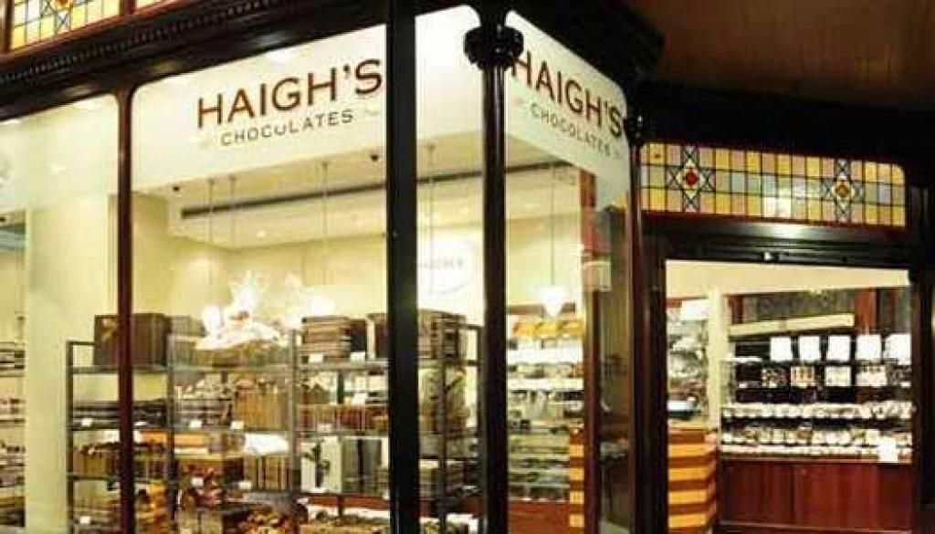 Haighs Chocolates Sydney George Street 750x300