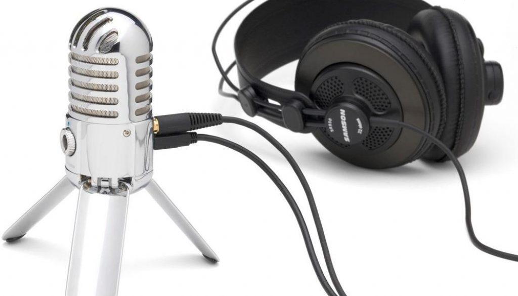 Samson Meteor USB Microphone Headphones 1000x1000pxl